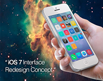 IOS 7 Interface Redesign Concept