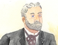 Gustave Eiffel, by Th.A. Yoghill
