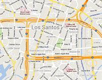 Los Santos Google Map
