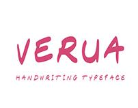 Verua Typeface