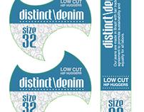 Roland DGA Denim Label