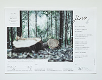 JINO Project, Logo mark, Leaflet