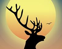 Deer (Illustration)