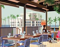 Whisknladle Restaurant Events Poster