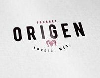 Origen Gourmet - Logo & Identity Design
