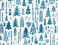 Deep into the Woods Pattern