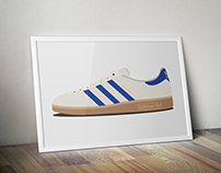 Adidas Trainers Illustration