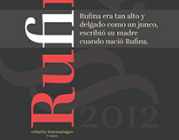 Pôster - Tipografia Rufina