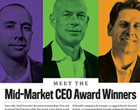Mid Market CEO Awards - Cover/ Editorial Design