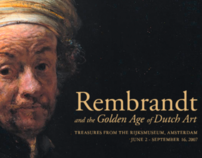 Rembrandt Special Exhibition Website Design/Development