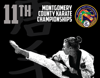 Amkor Karate Championship Poster and Postcard
