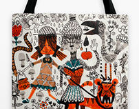 Textile Illustrations