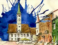Watercolor Europe