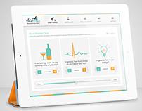 Vitame: UI/UX Design Work