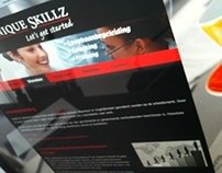 Redesign website for an employment agency