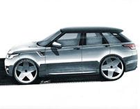Range Rover Sport // Sketching