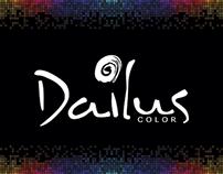Layouts desenvolvidos para a página de Dailus Color