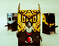 Chubbytoys | Owl | Daft Punk