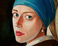 Vermeer. Girl with a Pearl Earring.