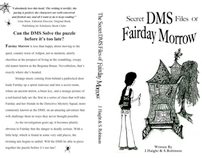 The Secret DMS FIles of Fairday Morrow