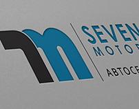 7m (Seven Motors), logo, identity, guideline