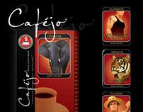 Caféjo Coffee Flavor Labels