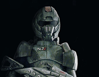N7 armor from Mass Effect