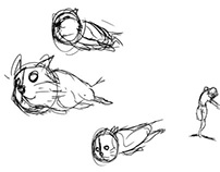 Crazy Cat Lady storyboard animatic