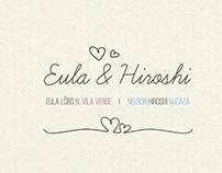 Identidade Visual | Casamento Eula e Hiroshi