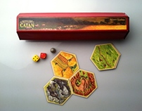 Settlers of Catan Packaging redesign
