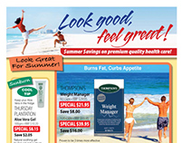 Thompsons Nutrition – Summer catalogue