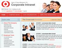 Bank of Tokyo-Mitsubishi UFJ   Corporate Intranet (PoC)