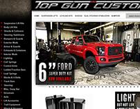 Top Gun Customz Site Re-design Proposal