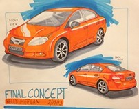 Car Concept Renderings
