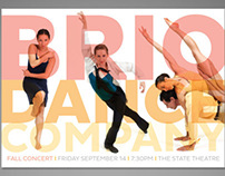 Brio Dance Company Performance Promotion