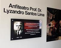 Hospital Paraná - Identificação de Sala de Auditório