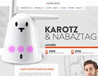 Inprocess - Karotz et Nabaztag - Proposition