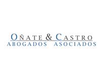 Maqueta Oñate & Castro Abogados - 2012