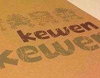 Tipografía Mapuche - Kewen