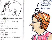 Sketchbook: Washington, DC People 2
