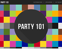 Party 101 - Responsive email invites