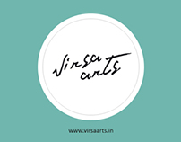 Website & Logo design for Virsa Arts