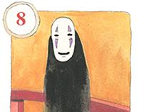 Miyazaki's Spirited Away deck of playing cards
