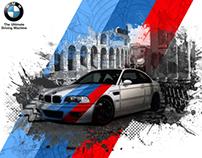 BMW M3 artwork