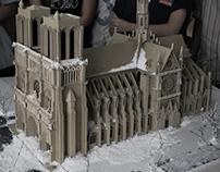 Winter Notre Dame de Paris