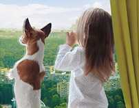Рекламная кампания ЖК «Тимирязев парк»