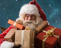 Santa Claus at North Pole