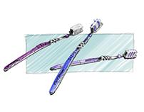 Toothbrush sketch