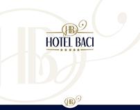 Hotel Baci identity