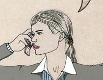 Illustrations for Hillsider magazine